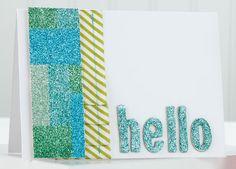 Happy Hello Card by @Jess Liu Witty
