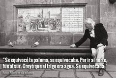 8 frases sobre poesía y libertad para recordar a Rafael Alberti | Verne EL PAÍS Quotes, Painting, Frases, Banners, Political Freedom, Writers, Libros, Quotations, Painting Art