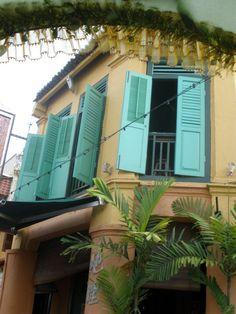 Vieilles maisons de Malacca, Malaisie