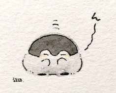 Mini Drawings, Kawaii Drawings, Penguin Art, Penguin Drawing, Anime Chibi, Cute Kawaii Animals, Cartoon Drawings Of Animals, Doodle Art Journals, Kawaii Doodles