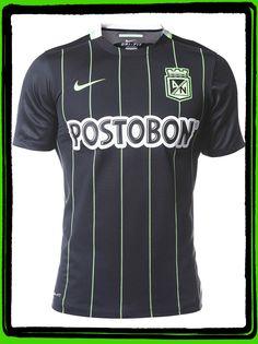 Camiseta Nike M/C Visitante Atlético Nacional 2016