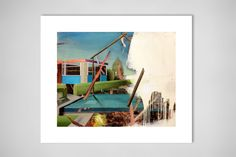 "Saatchi Online Artist: Stephen Thorpe; Oil, Painting ""Void"""