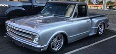 67 Chevy Truck, C10 Trucks, Ford Pickup Trucks, Classic Chevy Trucks, Hot Rod Trucks, Chevrolet Trucks, Chevy Stepside, Chevy Pickups, Trucks Only