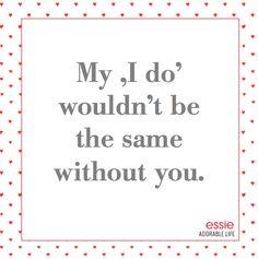 #essieHochzeit Tipp #2 mit Anna von AL Adorable Life: Hochzeitsgeschenke müssen nicht immer für das Brautpaar sein. Die #essieBraut dreht den Spieß um und hat für die geliebten Brautjungfern eine ganz besondere Überraschung: für jede #essienista gibt es vor der Hochzeit einen Essielack in der Lieblingsfarbe/passend zu den Kleidern. Gibt es eine schönere Art 'Danke' zu sagen? So können alle Nägel um die Wette funkeln. Eure, Anna (https://aladorablelife.wordpress.com)