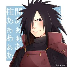 Omg Madara Uchiha is blushing !!!