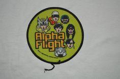 1980 Alpha Flight Marcel Comics Patch by BuffaloPasse on Etsy
