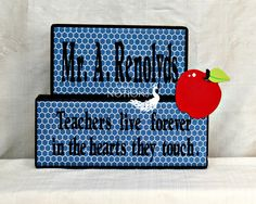 Teachers live forever in the hearts they touch saying by tnotions #HEPteam