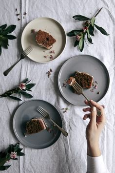 Citrus, Vanilla & Olive Oil Spelt Cake with Rose   Gather & Feast