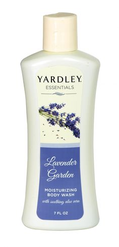 Yardley essentials moisturising body wash 207ml lavender garden
