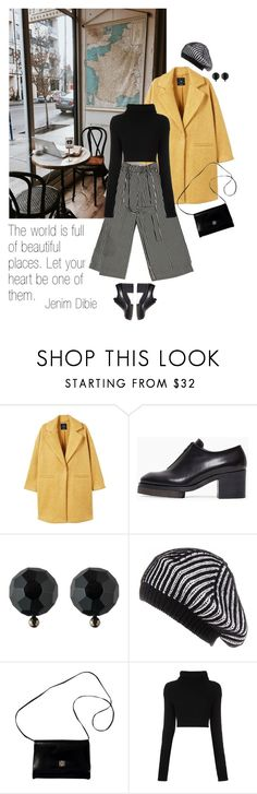 """""""A beautiful place"""" by tasteofbliss ❤ liked on Polyvore featuring MANGO, Acne Studios, Ralph Lauren, Black, Givenchy and Valentino"""