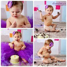 Cake Smash Photography #cakesmash #photography