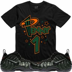 promo code 65c47 d0c8c Sequoia Foamposites Sneaker Tees shirt to match is available in sizes  Small-3XL Swag Outfits