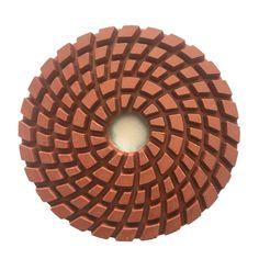 Resin Diamond Floor Polishing Pad is used for concrete, stone, terrazzo floor medium to fine grinding. Grinding Machine, Terrazzo Flooring, Concrete, Resin, China, Tools, Stone, Diamond, Instruments