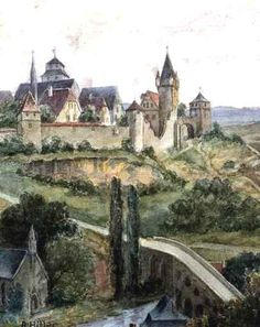 A watercolor by Adolf Hitler