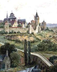 A watercolor by Adolf Hitler