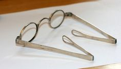 Solid Silver Georgian Spectacles Hallmarked | eBay