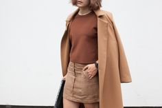Leaning into brown