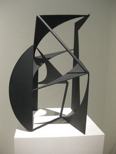 Birthday of 'Store Robert' - Danish sculptor Robert Jacobsen: June 4, 1912 – 1993… Robert Jacobsen: Concrétion, 1953 (ARoS)