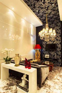 Decor Salteado - Blog de Decoração e Arquitetura : Tetos decorados – veja modelos de sancas, cores, iluminação e muito mais!