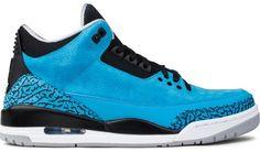 "Jordan Brand Air Jordan 3 ""Powder Blue"" Jordan 2016, Air Jordan 3, Air Max Sneakers, Sneakers Nike, Hypebeast, Nike Air Max, Jordans, Kicks, Powder"