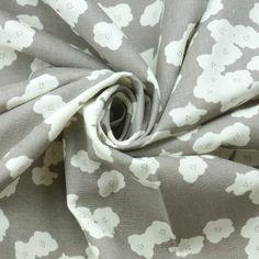 Birch - Bio Double Gauze - Poppies - shroom Birch, Alexander Mcqueen Scarf, Poppies, Fabrics, Design, Fashion, Tejidos, Moda, Fashion Styles