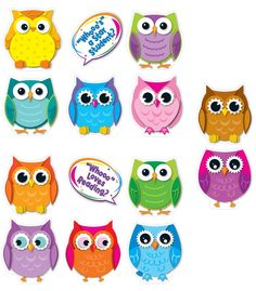 #CDWishList Colorful Owl Talkers Bulletin Board Set - Carson Dellosa Publishing Education Supplies