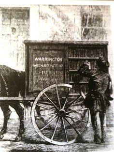 "The Warrington Perambulating Library. Edición de ""The Illustrated London News"", 1860"