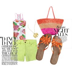 Summer, created by graci-kriss on Polyvore