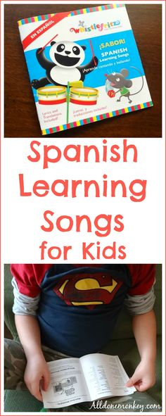 Spanish Learning Songs for Kids: Whistlefritz CD Review | Alldonemonkey.com @alldonemonkey
