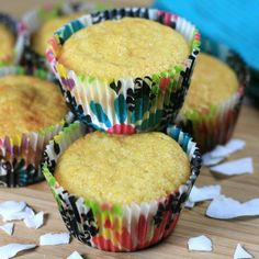 """Paleo Coconut Muffins 