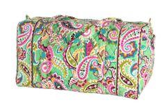 Vera Bradley LARGE DUFFEL Bag ~ TUTTI FRUTTI Pattern ~ New/NWT #VeraBradley #ShoulderBag