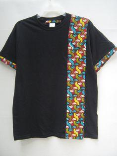 African Print T shirt, African Print T shirt, Tribal Print shirt, African Print Shirt, Men's T shirt - Featured Dresses African Attire, African Wear, African Fashion, African Beauty, African Print Shirt, African Shirts, Afro, Print T Shirts, Mens Kurta Designs