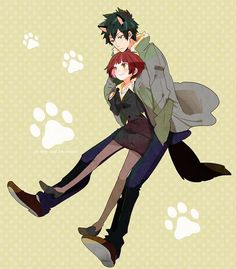 Aww! So cute! Akane and Kogami, the OTP of this show in my opinion! Catch them in PSYCHO-PASS every...