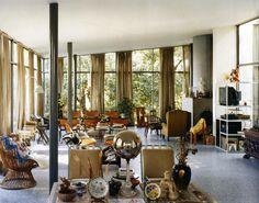 Lina Bo Bardi - Casa de Vidrio (glass house), Sao Paulo 1951.