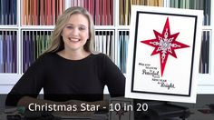 A 10 cards in 20 minutes video tutorial from Brandy Cox. The is a Christmas…