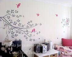 Tree wall decals Nursery wall decals Branch vinyl wall by cuma, $45.00 etsy