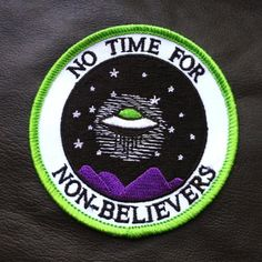 No Time For Non Believers Patch
