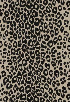 Leopold Print Black White Wallpaper W0043 01