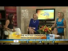 STYLE'N | Naina Singla - fashion stylist and style expert - Blog - On Air: Swimwear Trends At Let's Talk Live DC