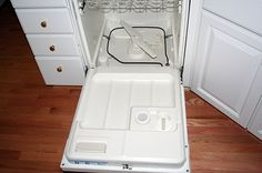 How to fix a dishwasher that won't drain. My first DIY project :)