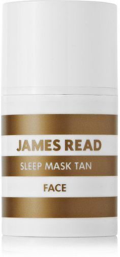 Shop our Editors' April beauty must haves: James Read Sleep Mask Tan ($43)