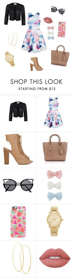 """""""Look book for the summer"""" by mariaavt ❤ liked on Polyvore featuring beauty, Yumi, Michael Kors, Decree, Casetify, Lana and Lime Crime"""