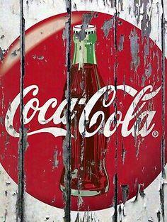 Coca Cola Retro metal Sign vintage / man cave / garage / Shed Gift / Pub / Bar Coca Cola Life, Coca Cola Ad, Always Coca Cola, World Of Coca Cola, Coca Cola Bottles, Pepsi, Coca Cola Poster, Coke Ad, Coca Cola Vintage