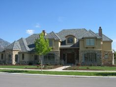 Traditional exterior.
