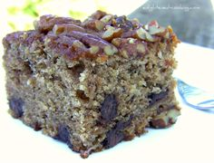 Healthy Desserts Ideas : One-Bowl Banana Buckwheat Cake (gluten-free) Gluten Free Sweets, Gluten Free Cakes, Gluten Free Baking, Healthy Baking, Gluten Free Recipes, Healthy Cake, Vegan Baking, Buckwheat Recipes, Buckwheat Cake