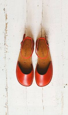 df1a26ef9ec68 Handmade Women Sandals In Red Color
