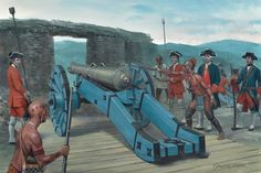 In The French Siege Lines – Fort William Henry, August 1757
