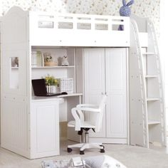 La Lourve Loft Bed Available From Beds N Dreams Australia