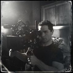 Sam Witwer behind the camera - Being Human Season 4