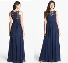 Find a Cheap Short Dark Navy Blue Bridesmaid Dress Spaghetti ...